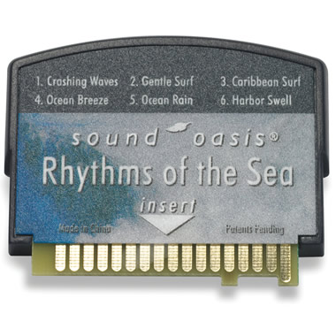 Rhythms of the Sea Sound Card for The Authentic Sound Oasis Machine.