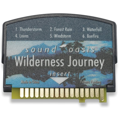 Wilderness Journey Sound Card for The Authentic Sound Oasis Machine.