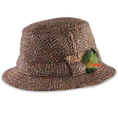 The Men's Irish Tweed Walking Hat.