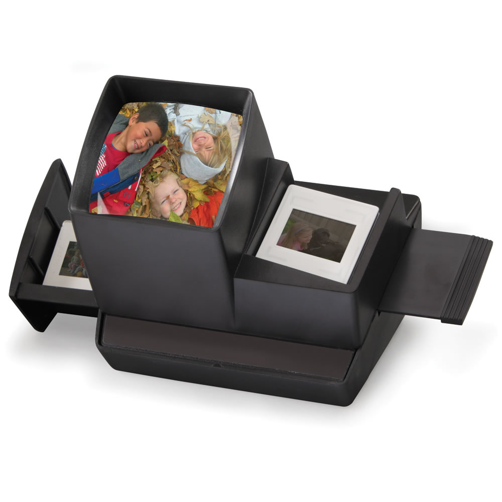 The Classic Desktop Slide Viewer Hammacher Schlemmer