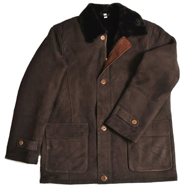 The Genuine Spanish Shearling Coat.