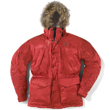 The Arctic Exploration Parka.