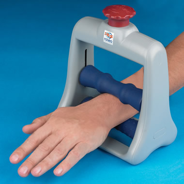 The Forearm Pain Relief Massager.