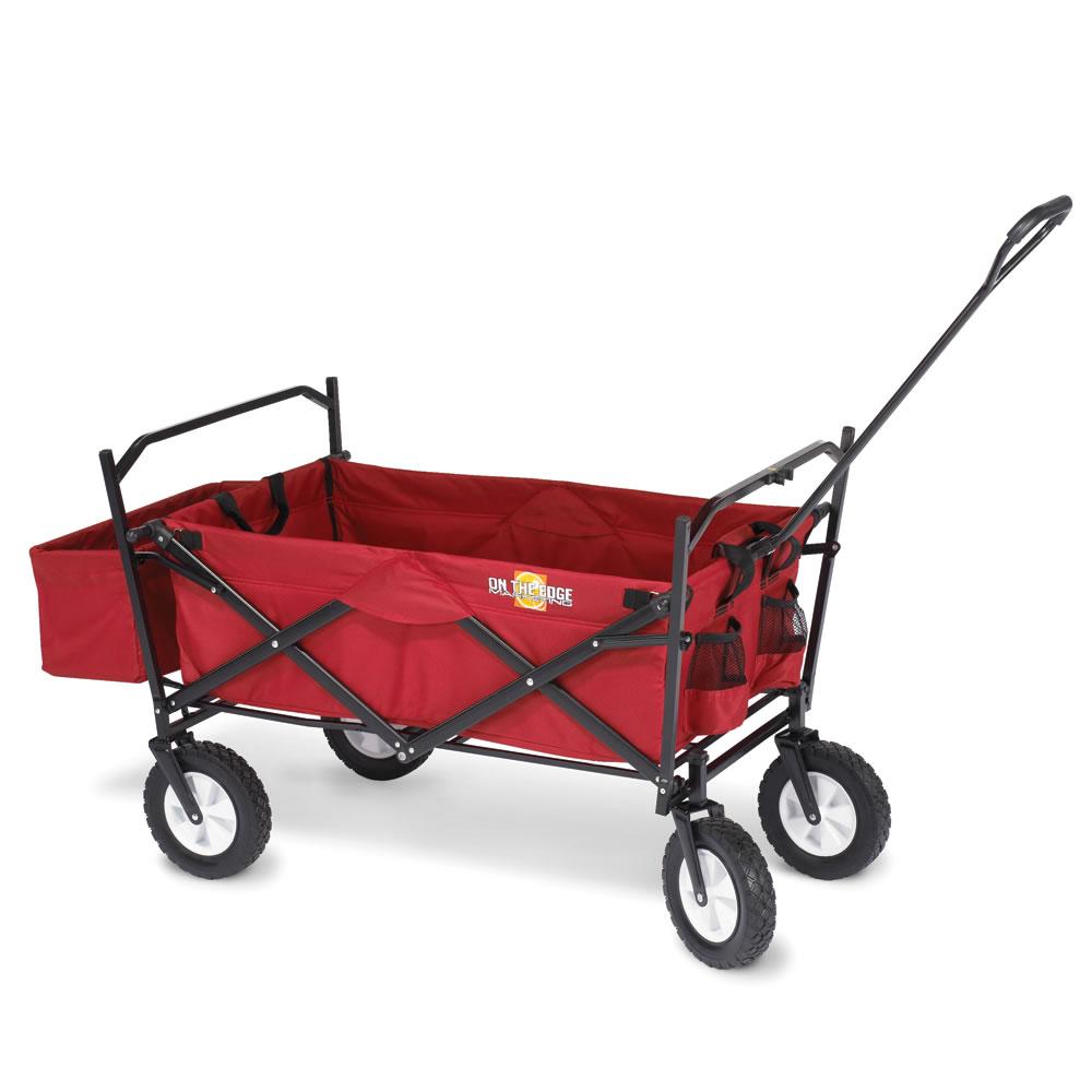 The Heavy Duty Foldaway Utility Cart Hammacher Schlemmer