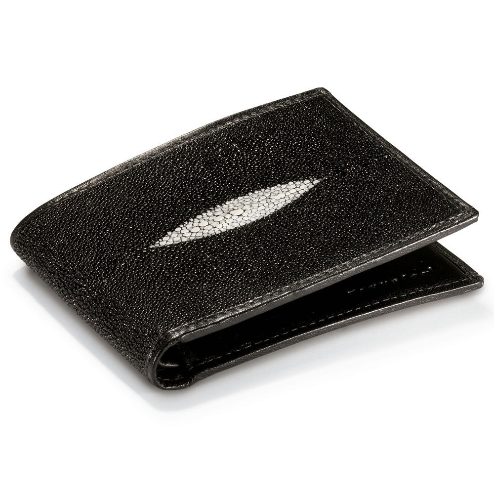 The Genuine Stingray Wallet  Hammacher Schlemmer