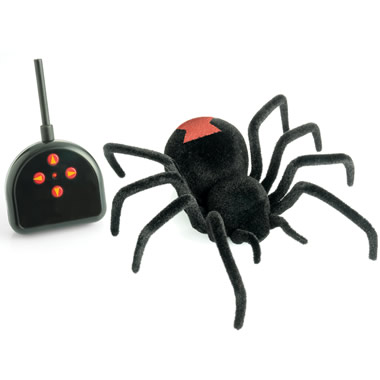 The Remote Controlled Black Widow.