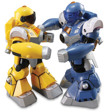 The Motion Mimicking Robotic Pugilists.