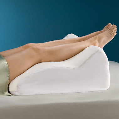 The Pain Relieving Contoured Leg Support.