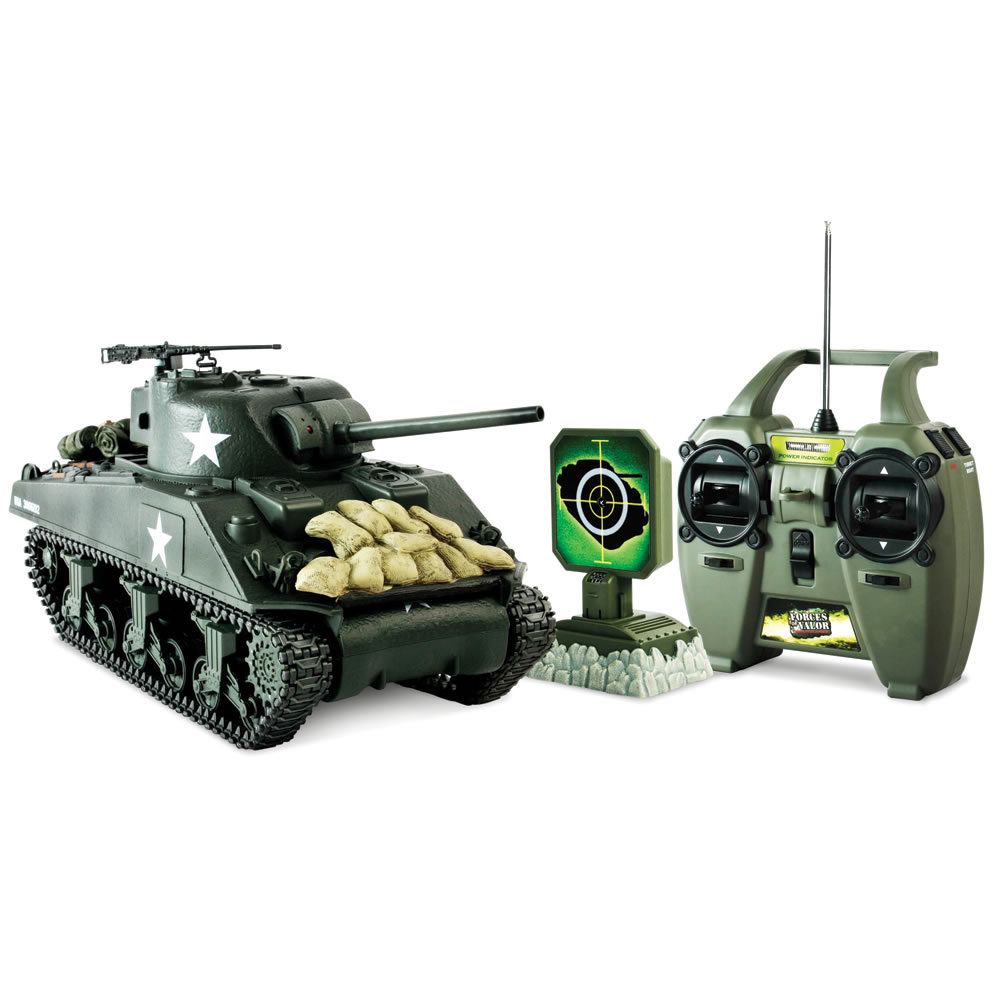 The Remote Control Authentic WWII Battling Tanks 2