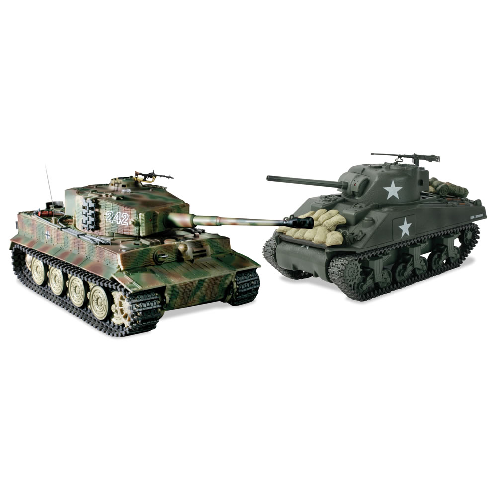 The Remote Control Authentic WWII Battling Tanks 1