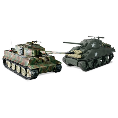 The Remote Control Authentic WWII Battling Tanks.