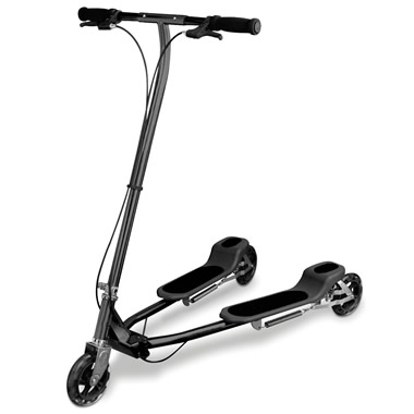 The Scissor Motion Scooter.