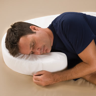 The Side Sleeper's Posture Pillow.