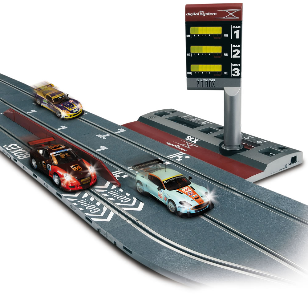 The Realistic Digital Slot Car Raceway 1