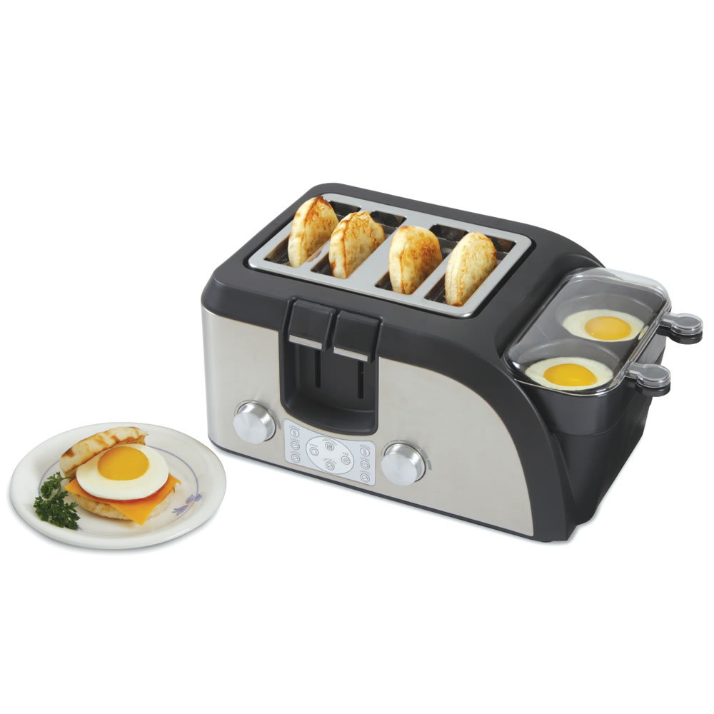 The Breakfast Sandwich Maker Hammacher Schlemmer