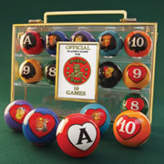The Card Game Billiard Balls.