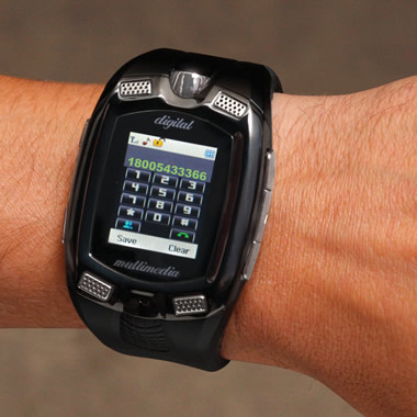 The Touchscreen Cell Phone Watch.