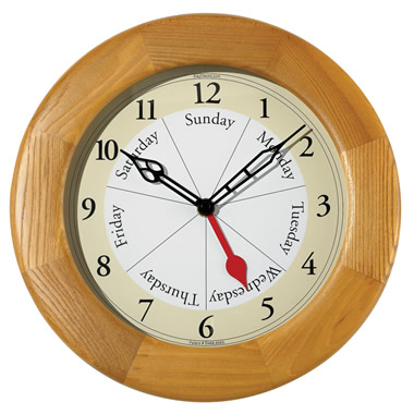 The Day Of The Week Clock