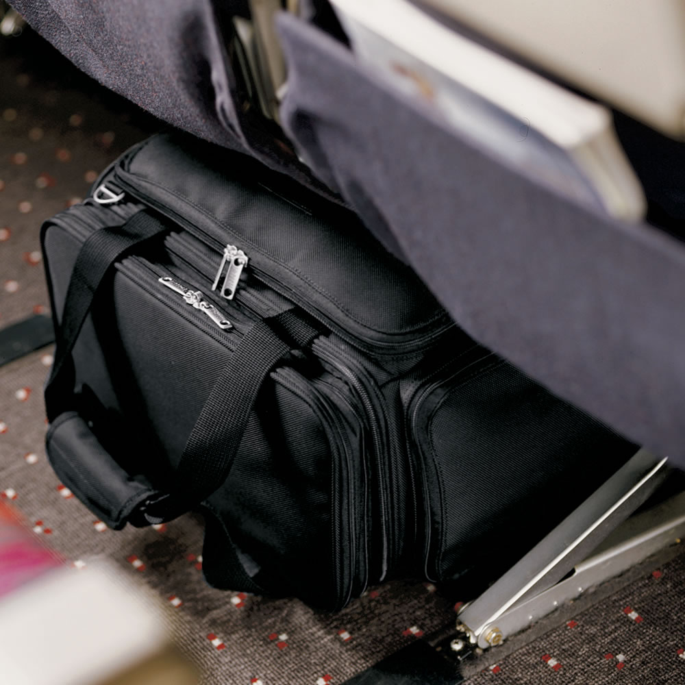 The Under Seat Rolling Carry On 2