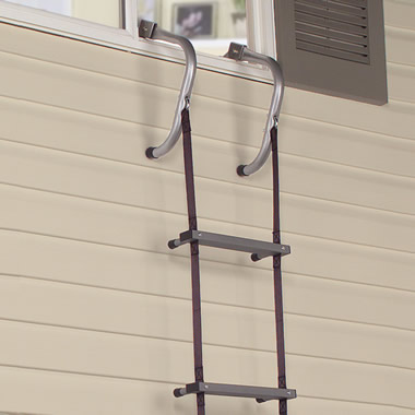 The Easy Deploy Fire Escape Ladder.