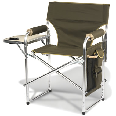 The Only Heated Portable Chair.