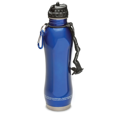The Self Filtering Water Bottle.