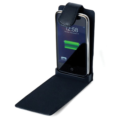 The iPhone And iPod Touch Charging Leather Case.