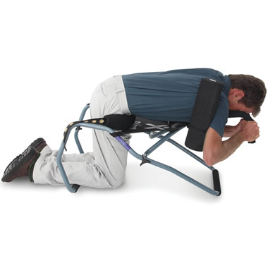 The Gentle Motion Back Stretching Device.