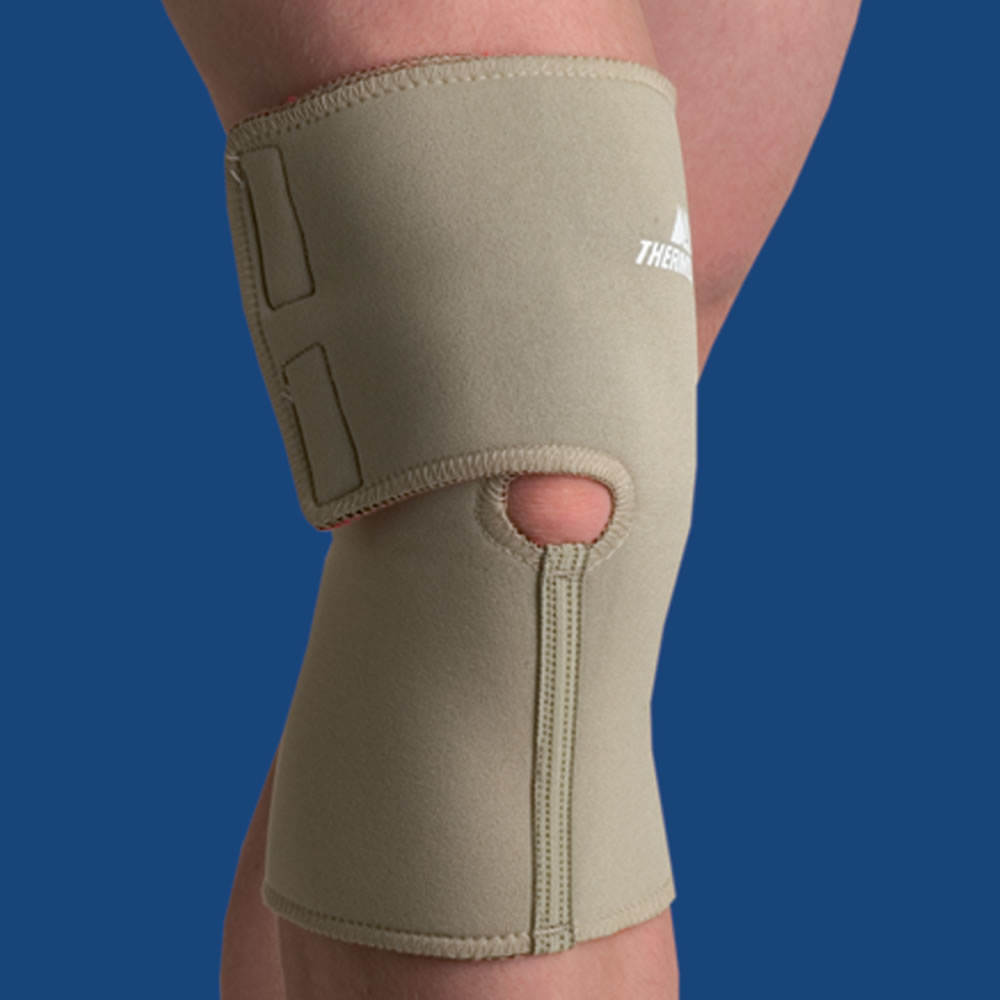 The Arthritis Pain Relieving Knee Wrap Hammacher Schlemmer