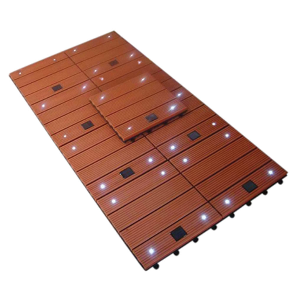 The Solar Lighted Walkway Tiles 2
