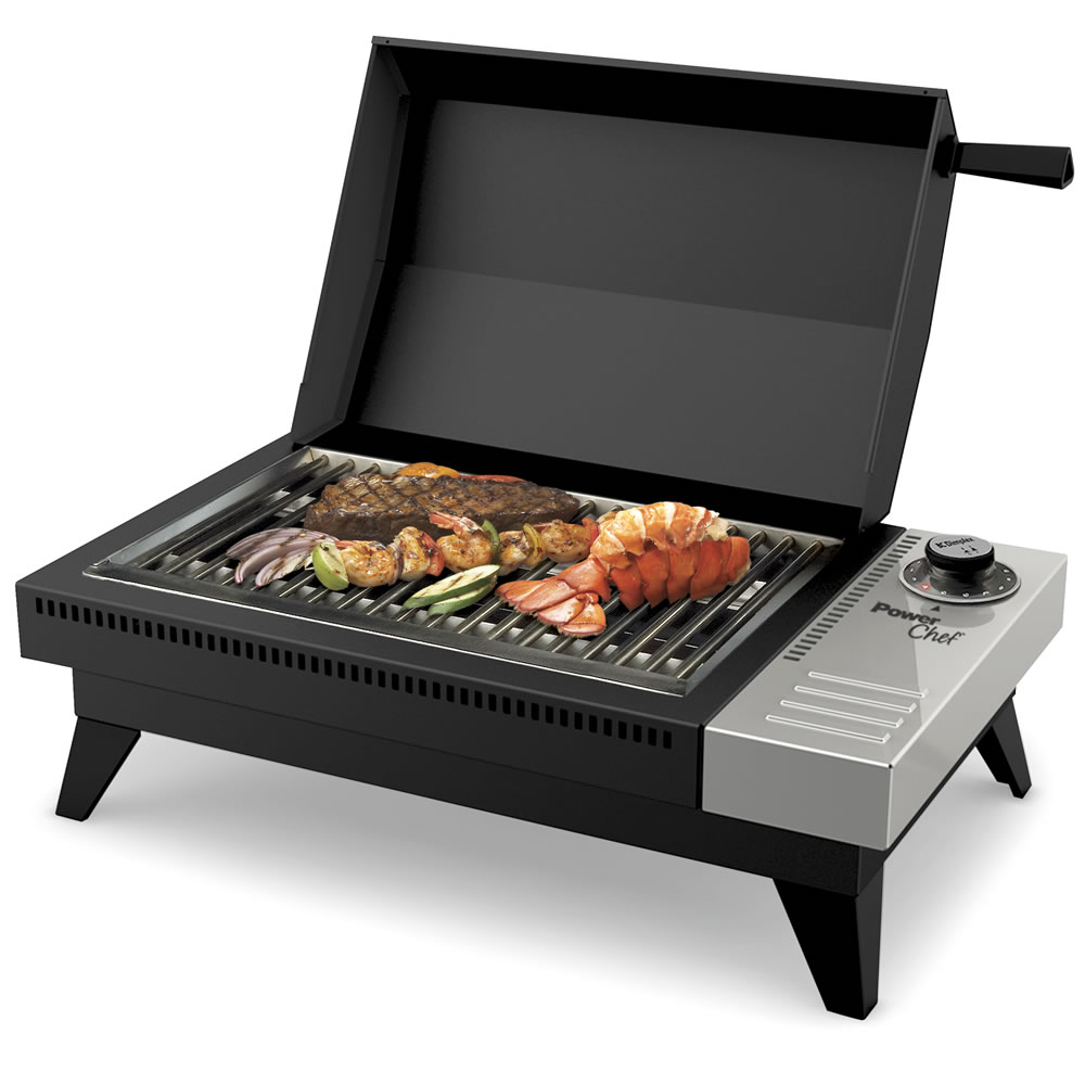 The 650 Degree Fahrenheit Flameless Grill 1