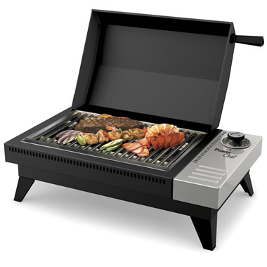 The 650 Degree Fahrenheit Flameless Grill