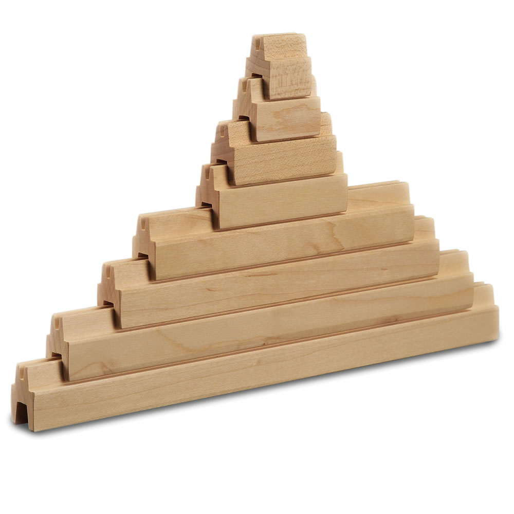 The Tongue and Groove Wooden Construction Set 2