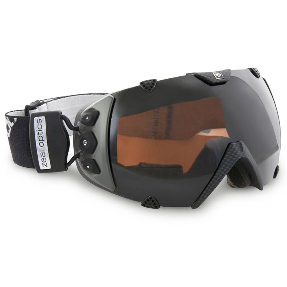 the only gps ski goggles hammacher schlemmer