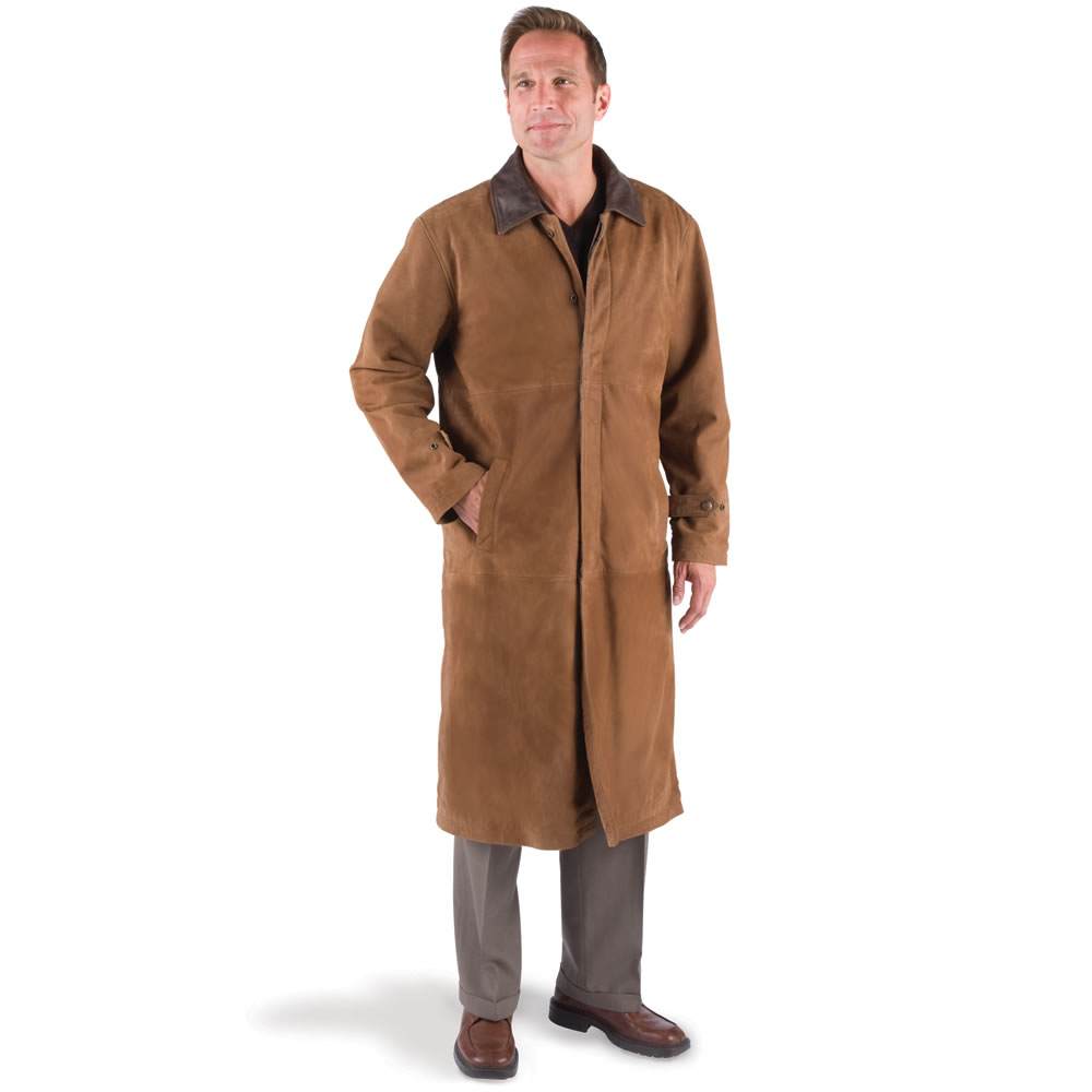 Image Gallery Leather Duster