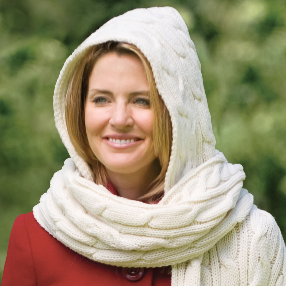 The Kildare Hooded Scarf 2