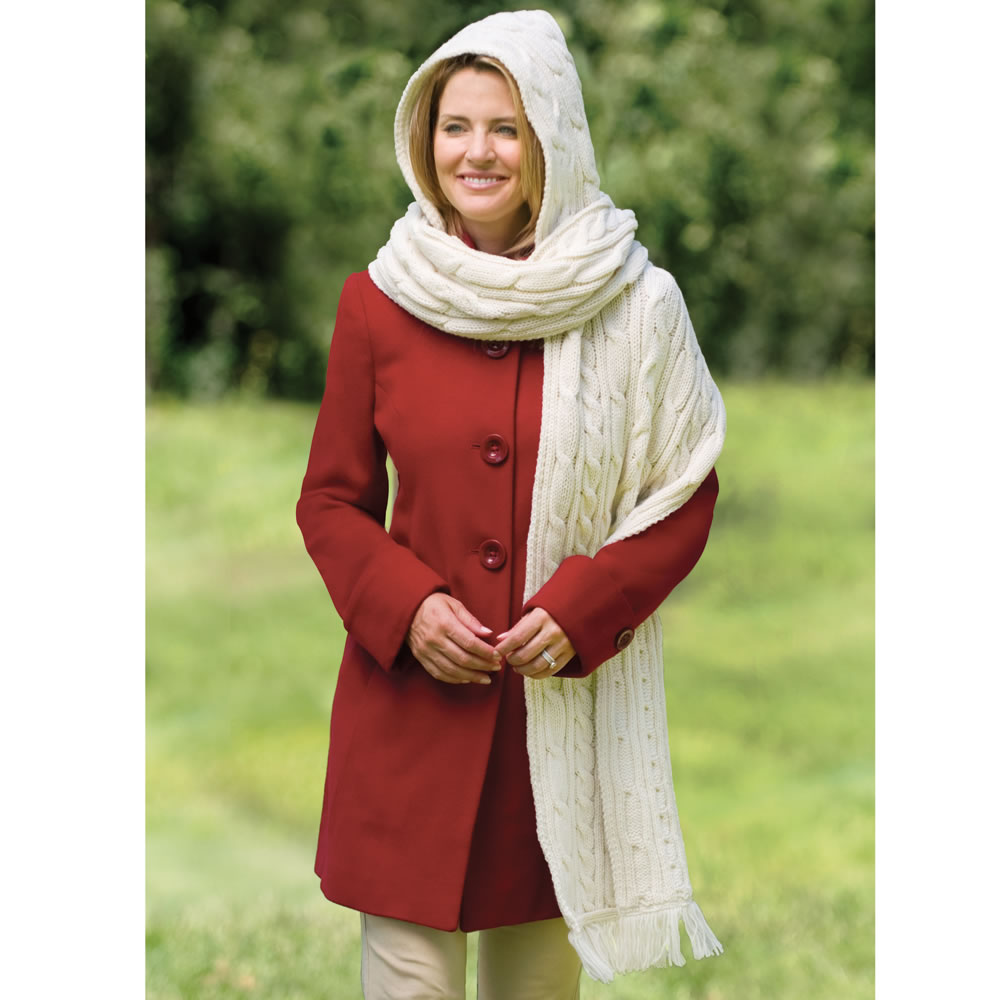 The Kildare Hooded Scarf 1