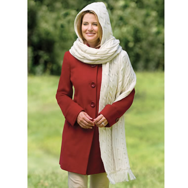 The Kildare Hooded Scarf.