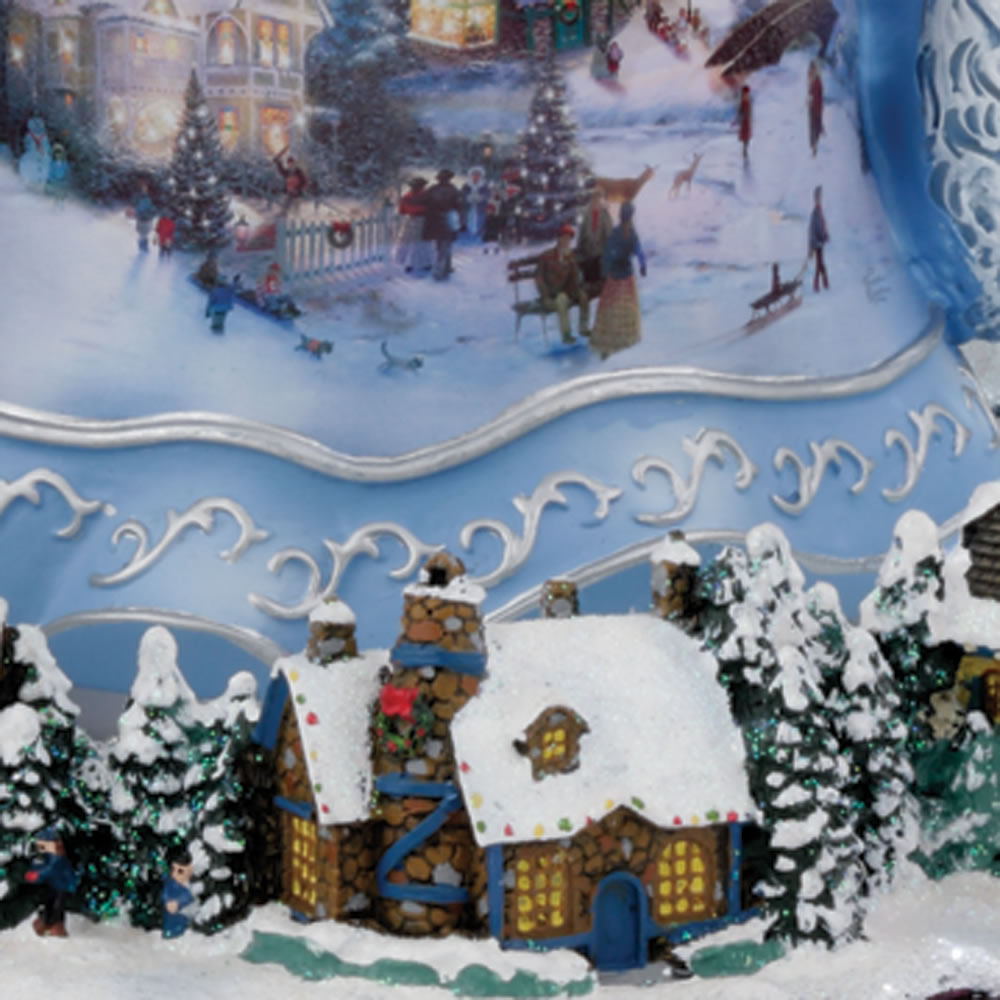 The Thomas Kinkade Musical Santa Claus2