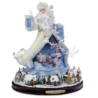 The Thomas Kinkade Musical Santa Claus.