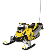 The Remote Controlled Ski-Doo.