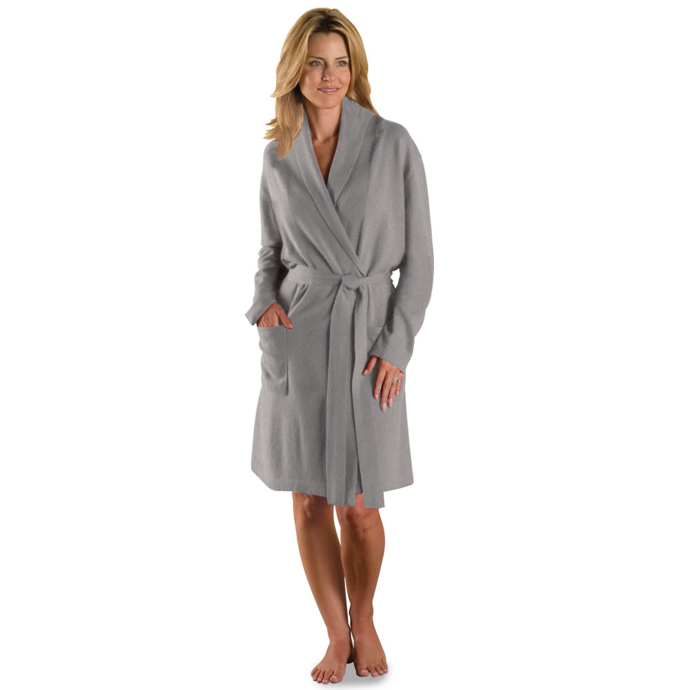 Robe: The Lady's Washable Cashmere Robe