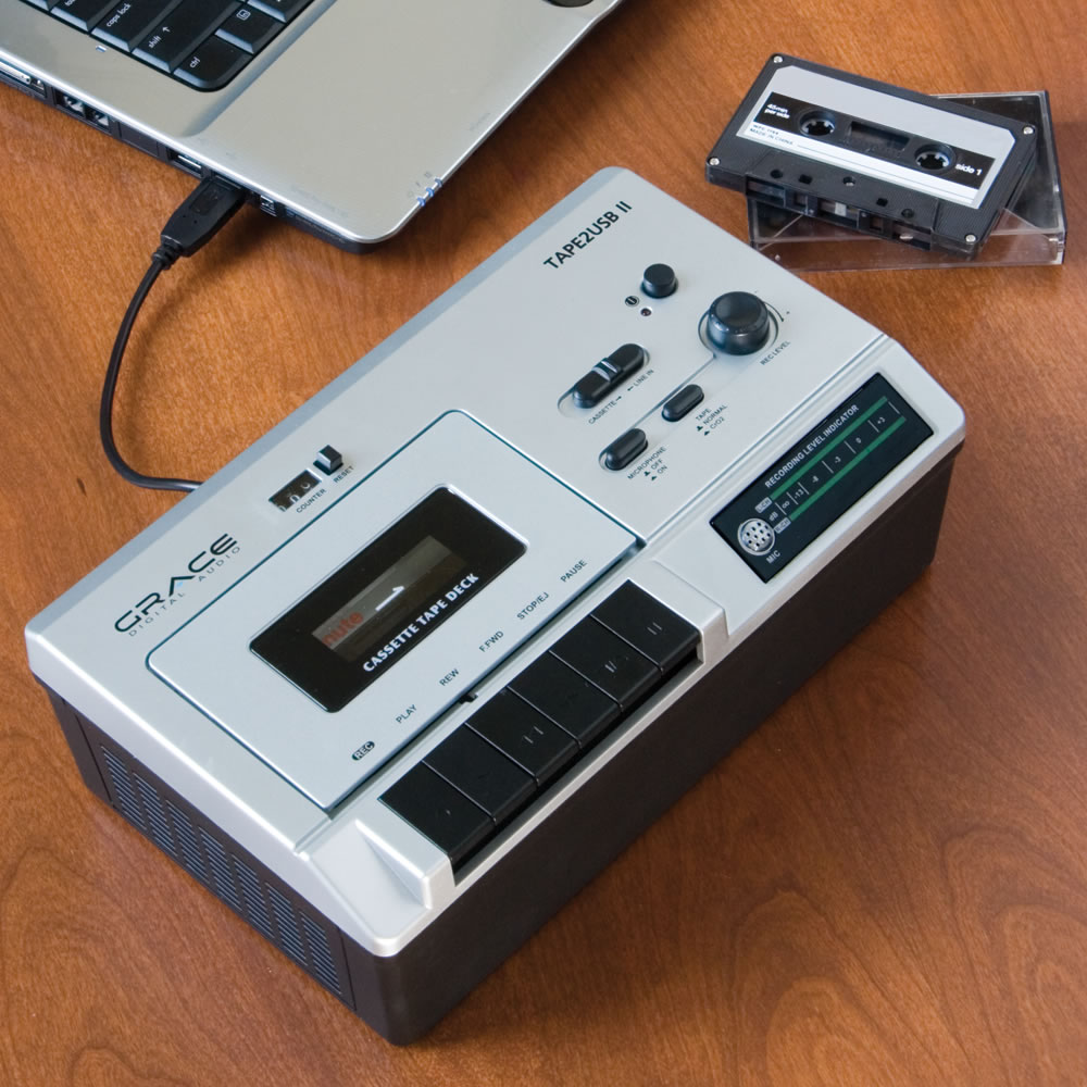The Portable Cassette To MP3 Converter1