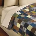 The Genuine Irish Tweed Patchwork Quilt.