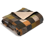 The Genuine Irish Tweed Patchwork Throw.