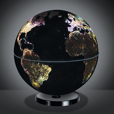 The City Lights Globe.