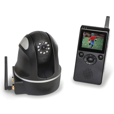 The Wireless Pan And Tilt Camera.
