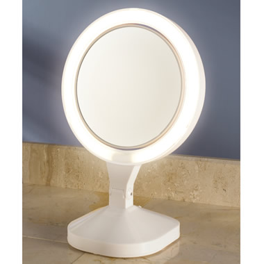 The 4X Brighter Vanity Mirror.