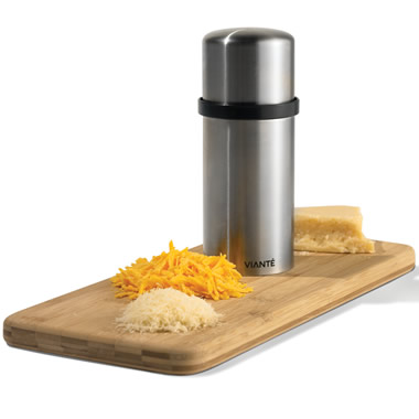 The Powered Cheese Grater.