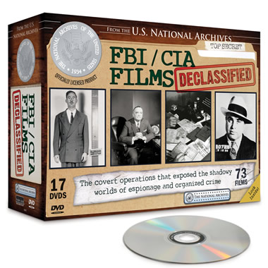 The National Archives Declassified Espionage Files DVDs.